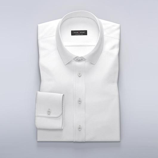 Klassisk hvit business-dresskjorte