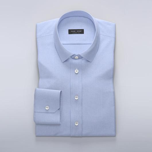 Lyseblå slim fit-skjorte