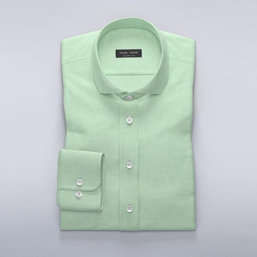 Green Oxford dress shirt