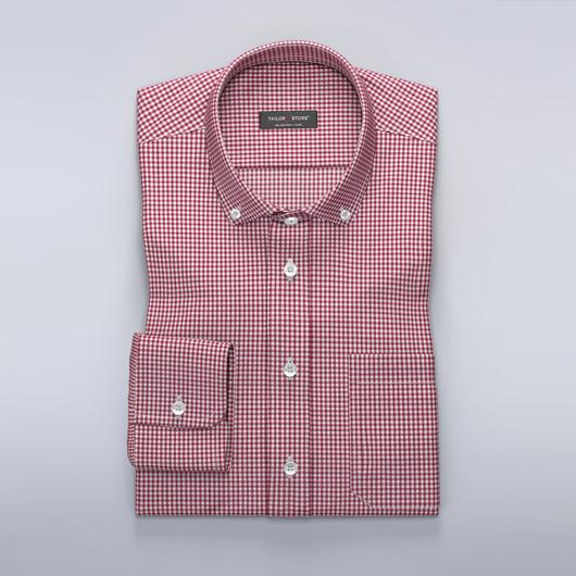 Rutig skjorta i rött/vitt