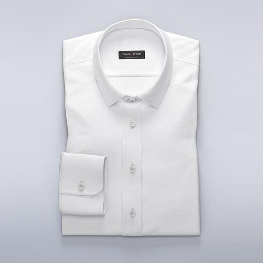 Elegancka koszula biznesowa z modnego,  drobnowzorzystego materiału