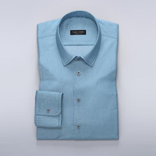 Błękitna koszula dżinsowa