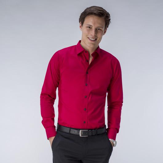 Koszula w kolorze ciemnoczerwonym