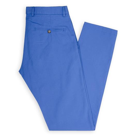 Cobalt blue tailor made chinos