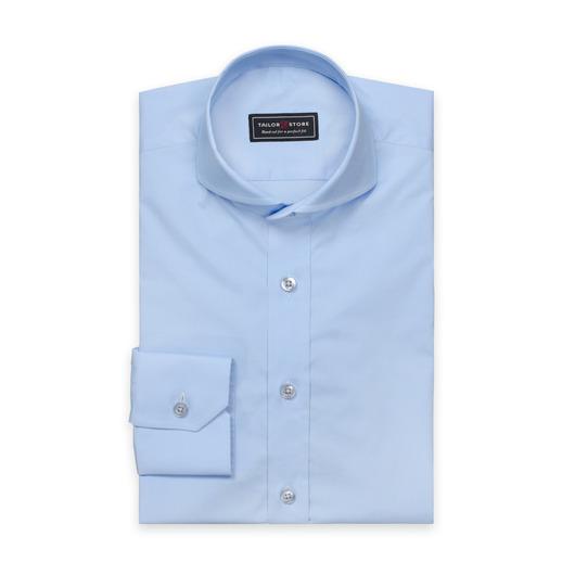 Light blue cut-away extreme shirt