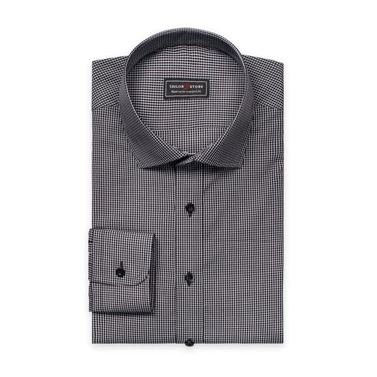 Musta/Valkoruudullinen paita