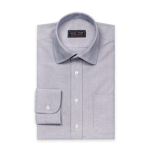 Harmaa Oxford-paita