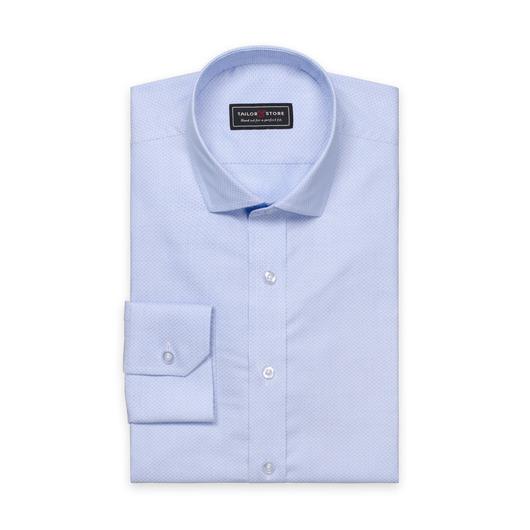 Light blue slim fit shirt