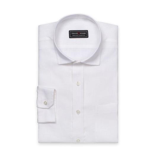 Hvit linskjorte
