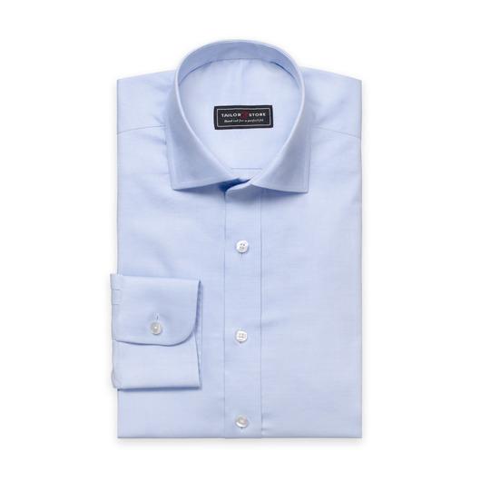 Hellblaues Hemd mit Cut-Away Classic Kragen