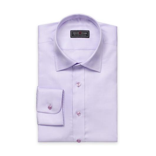 Lys lilla herringbone skjorte